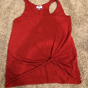 Old Navy tie front xsmall tank top.